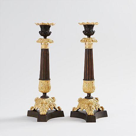 Ljusstakar empirestil 1800-tal Julspecial