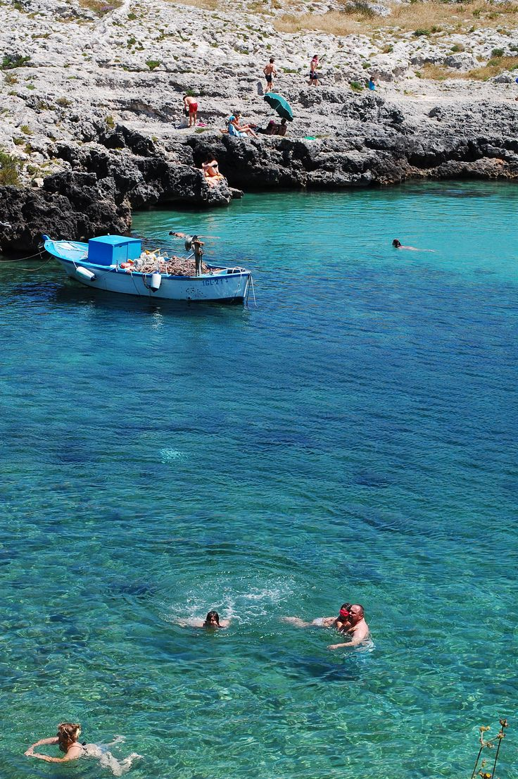 porto badisco, salento