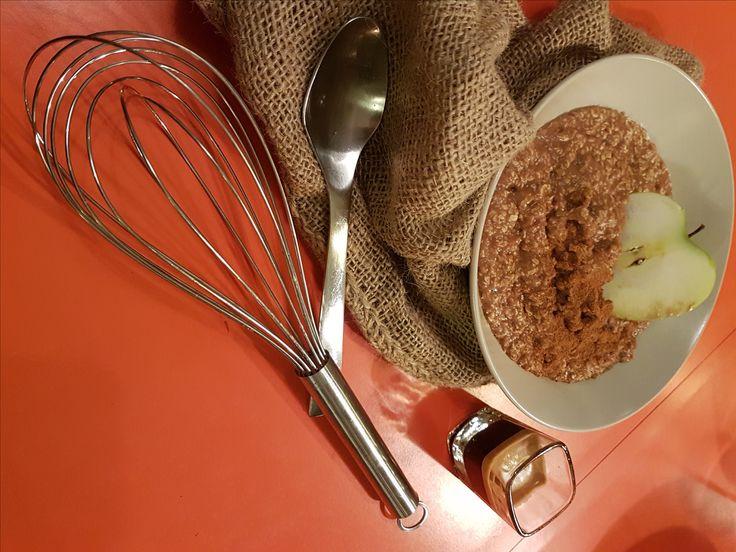 (VEGAN)+Κρέμα+Σοκολάτας+με+Νιφάδες+Βρώμης+–+Μόνο+4+Υλικά