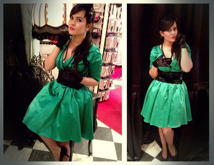 Envy Collar Dress