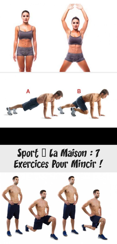 Sport à La Maison : 7 Exercices Pour Mincir in 2020