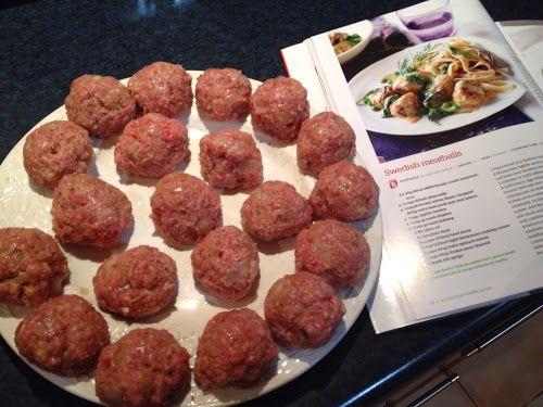 Swedish Meatballs... - ... Simply Joolz