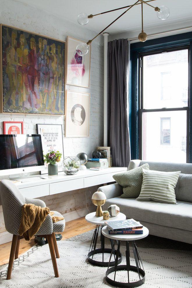 New Yorkse Instagrammer geeft tips voor het inrichten van een kleine ruimte - Roomed