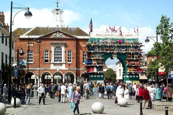 High Wycombe-Spent the first year of my marriage here.  I'll always love it.