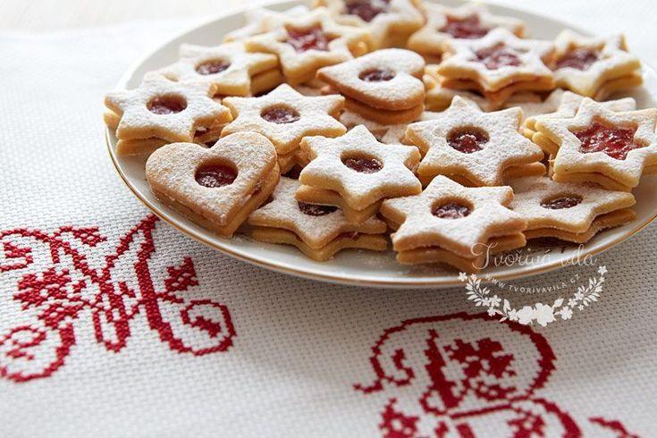 Vánoční linecké cukroví