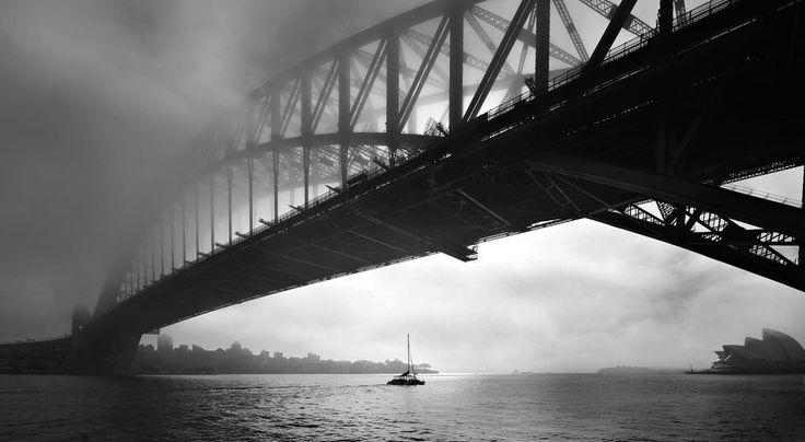 Fine Art Print 16 x 20 -  Australian Landscape Series - Sydney Harbour Bridge