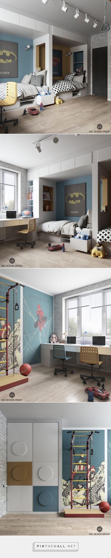 Superhelden Zimmer - Stil Fabrik - created via https://pinthemall.net