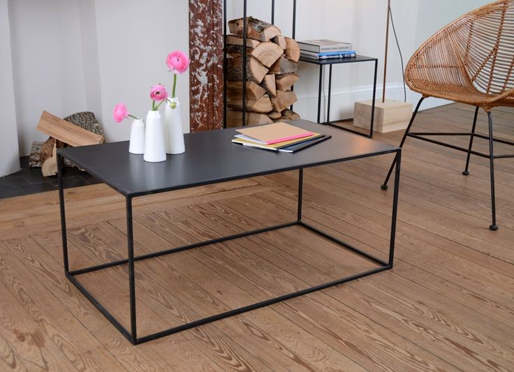 Table basse metal 120x75x40 ou 90x90x40