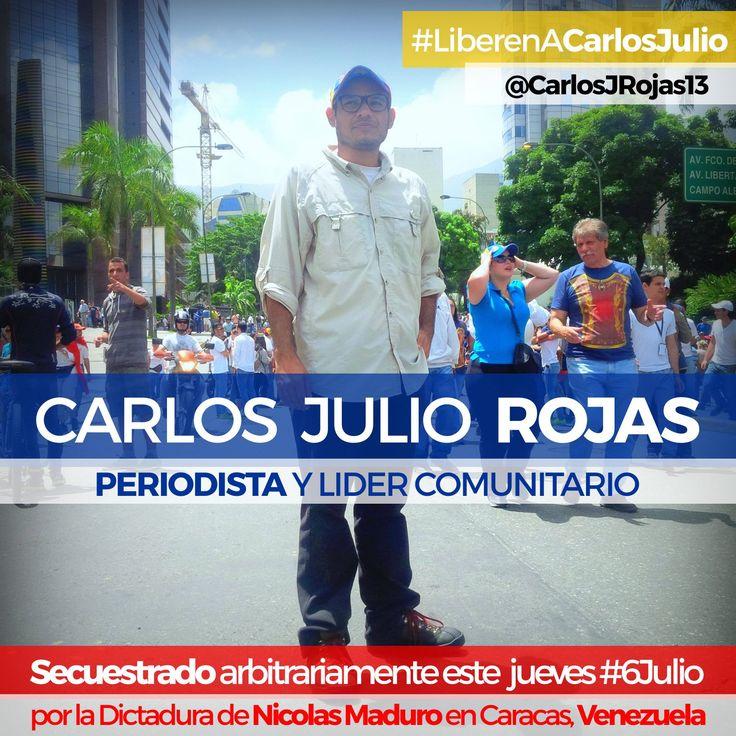 """""""Carlos Julio Rojas"""" - Búsqueda de Twitter"""