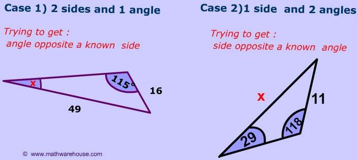 when to use law of sines formula