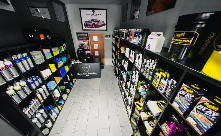 Shine Car Detailing Shop to sklep z ekskluzywnymi ...