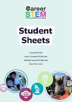 STEM Career Information Sheets - pack of 40
