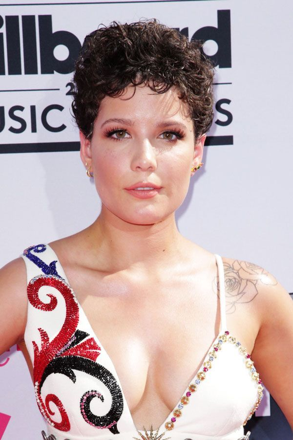 23 Pixie Cuts To Inspire Your Big Chop #refinery29  http://www.refinery29.com/pixie-haircut-inspiration#slide-1  At this year's Billboard Music Awards singer (and presenter) Halsey rocked a gorgeous curly 'do....