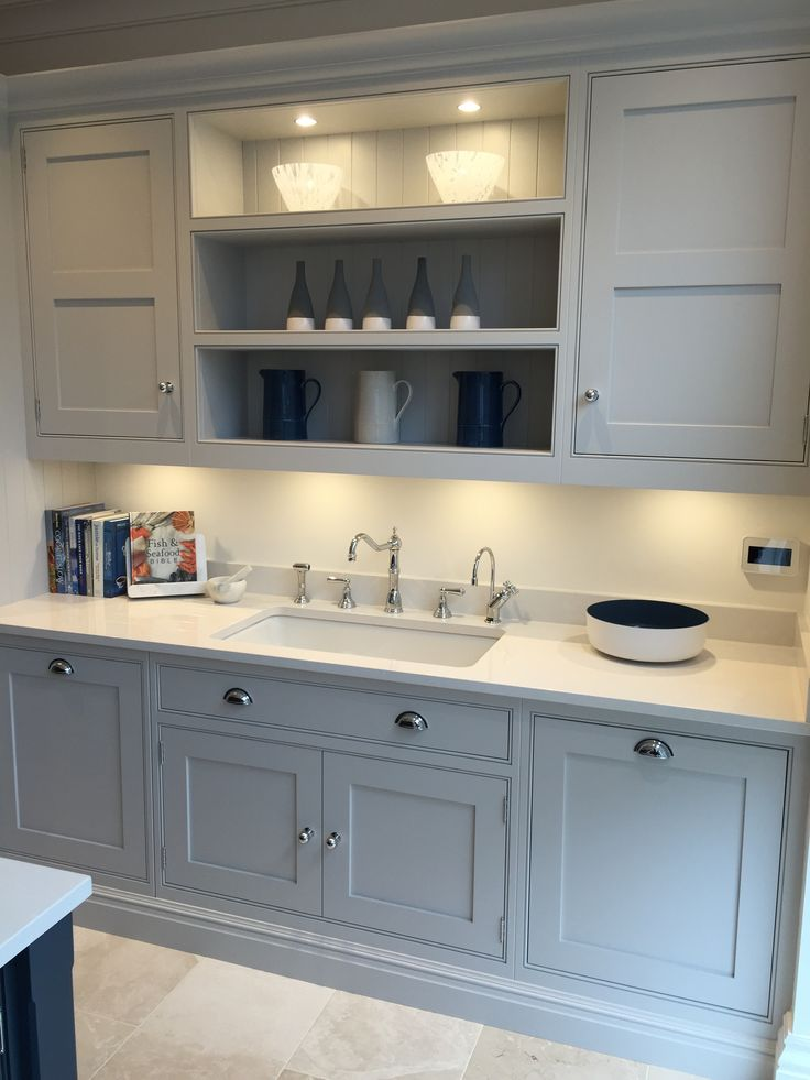 Tom Howley Altrincham Showroom Sink Area With Perrin