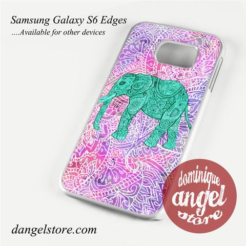 elephant aztec art Phone Case for Samsung Galaxy S3/S4/S5/S6/S6 Edge Only $10.99