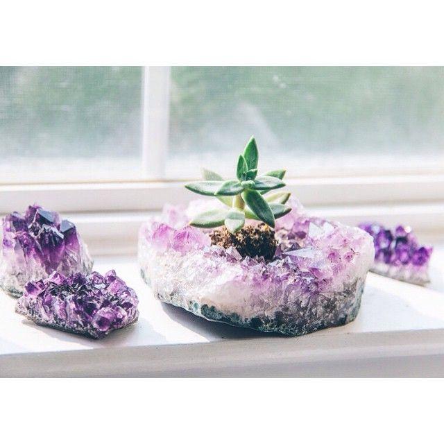 Amethyst garden  Shop crystals at www.SoulMakes.com