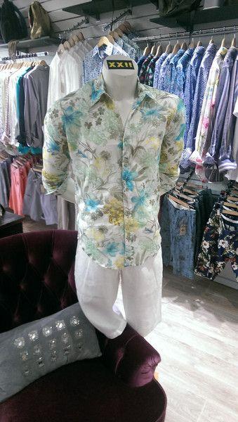 Eva Putu Italian Cotton Silk Shirt $129