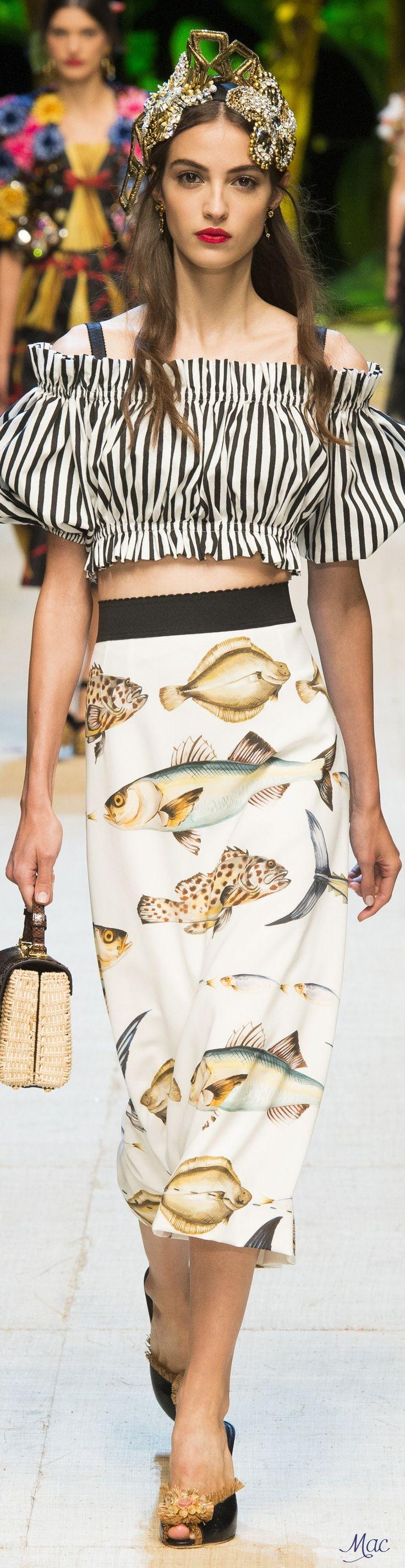 Spring 2017 Ready-to-Wear Dolce & Gabbana