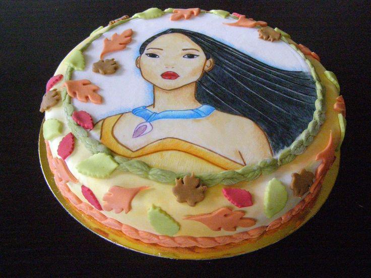 Tarta Pocahontas