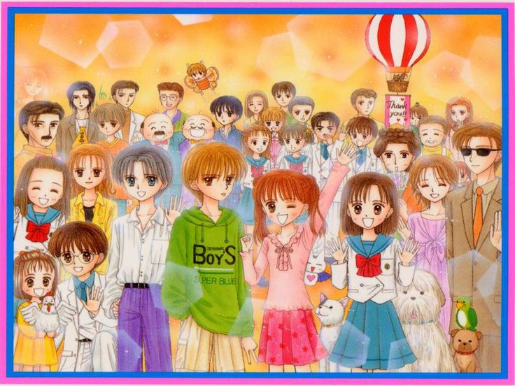 Kodocha...one of my fave animes ever...except I never saw all the episodes :(