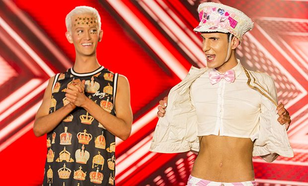 Who are The X Factor's Bratavio? Everything you need to know about Ottavio and Bradley Louis Walsh's live act