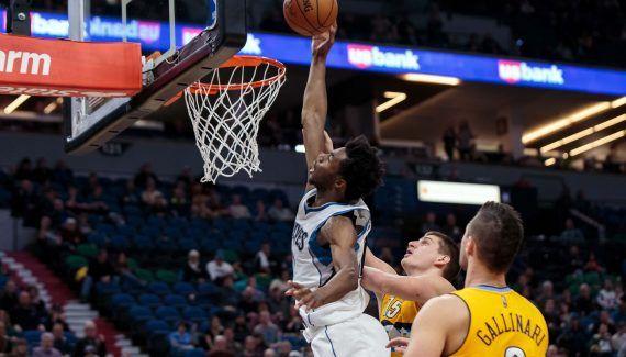Les Wolves s'arrachent pour repousser les Nuggets -  Deuxième victoire de suite pour Minnesota qui reprend des couleurs, cette fois, face à Denver, 111-108. Toujours portés par Karl-Anthony Towns (32 pts, 12 rbds, 7 pds, 4 cts mais… Lire la suite»  http://www.basketusa.com/wp-content/uploads/2017/01/wiggins-570x325.jpg - Par http://www.78682homes.com/les-wolves-sarrachent-pour-repousser-les-nuggets homms2013 sur 78682 homes #Basket