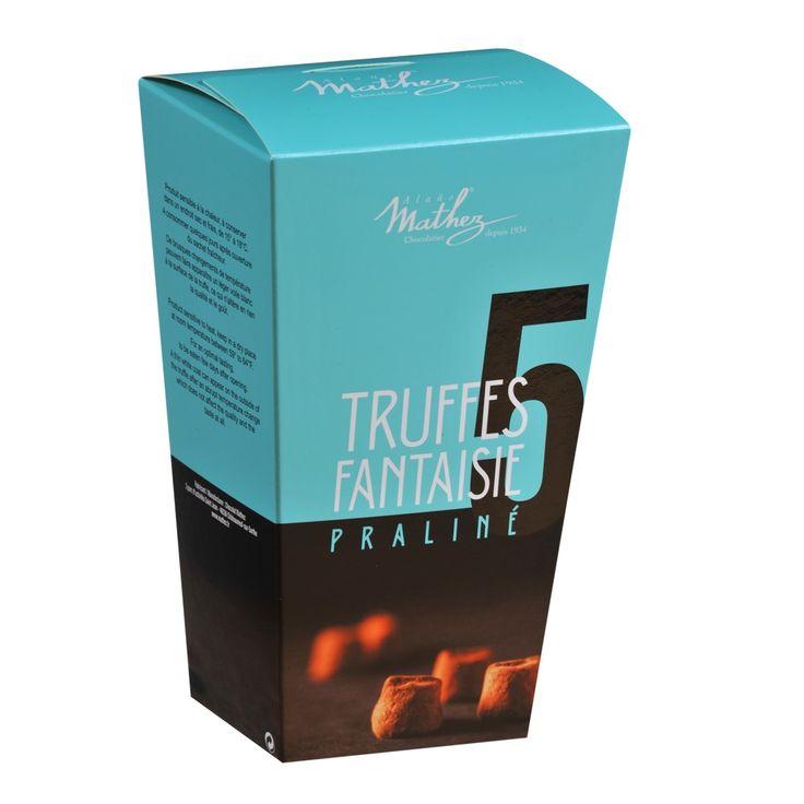 Truffes Fantaisie Praliné  #packaging  #collection #chocolatetruffles