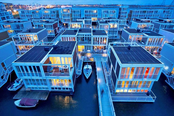 Floating Architecture is Making Waves