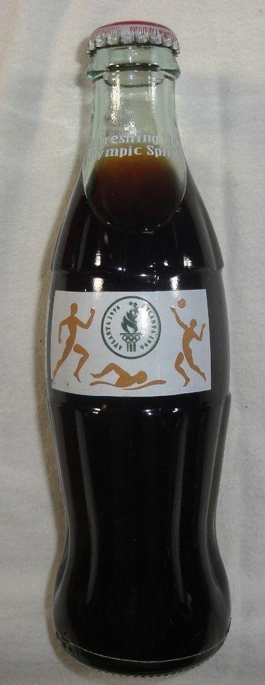 Coca Cola Bottle - 1996 Atlanta Olympics Commemorative Bottle - Unopened &…
