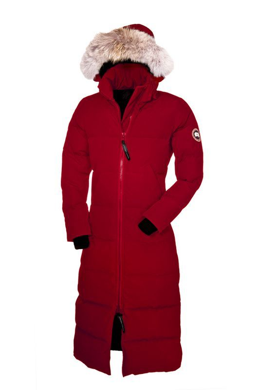 Canada Goose Outlet Women Mystique Parka Red On Sale ...