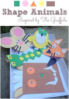 Exploring shapes with young children can be such fun when you involve a few animals friends from The Gruffalo. Using playful shapes let's explore the characters in the book created by Julia Donaldson to create Shape Animals. The Gruffalo is a playful story based on an old Chinese folktale of a fox and a tiger.  Julia creates …