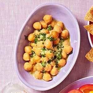Lemony Chickpea Salad: Fun Snacks, Olives Oil, Teaspoon Lemon, Healthy Snacks, 1 2 Cups, Chickpeas Salad, Fun Ideas, Teaspoon Olives, Lemony Chickpeas