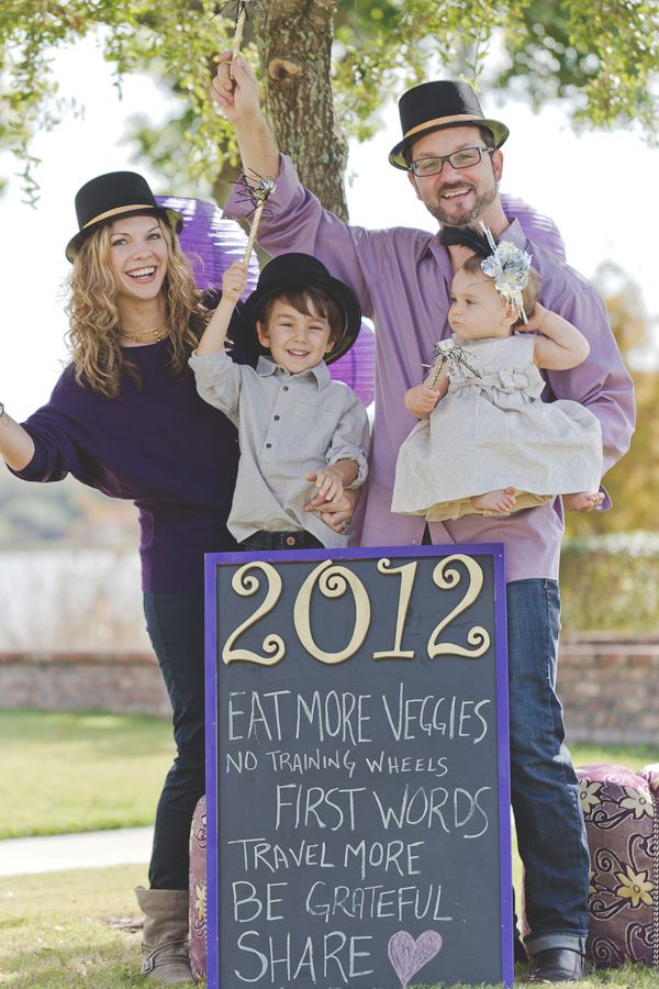 Love this idea.  Happy New Years 2012 with the goals for the year.