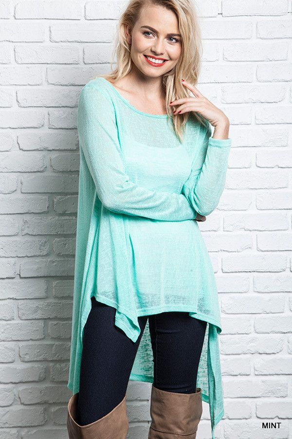 Mint Hi-Low Top Amazing top with an affordable price!