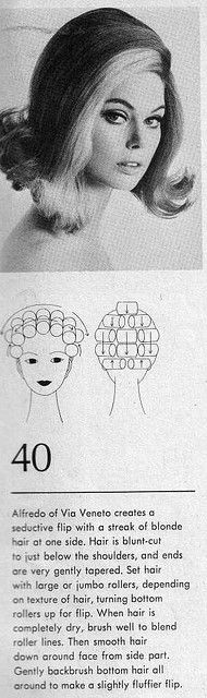 Hair Setting Patterns1969   par incurlers