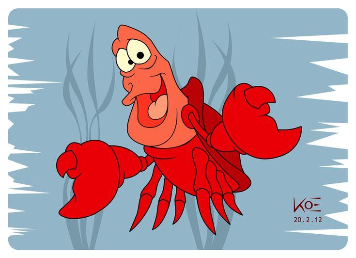 The 25 best Little mermaid sebastian ideas on Pinterest  The