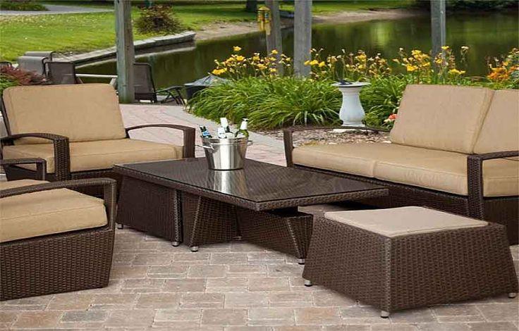 rattan furniture set deals