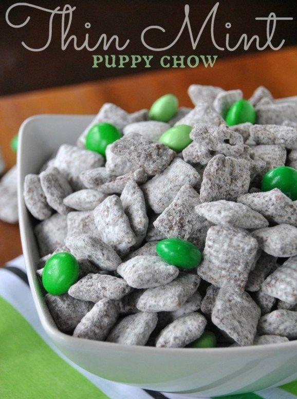 Thin Mint Puppy Chow Recipe