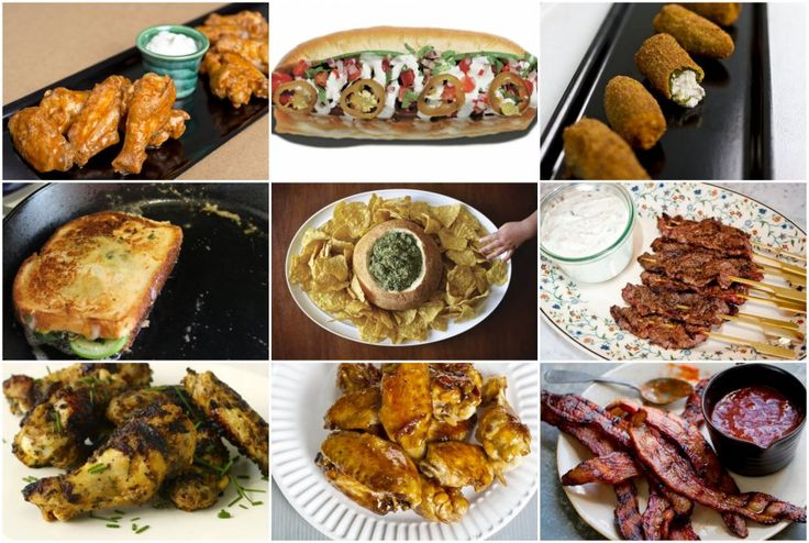 Playoff Sunday Snack Time! 25 Party-Friendly Recipes For The Big Games | Food Republic