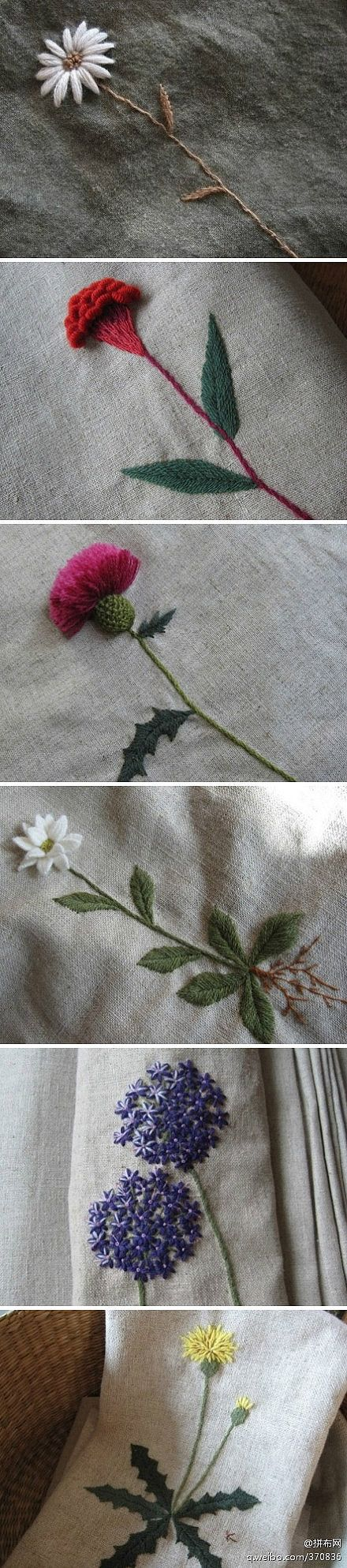Just look at that thistle! DIY Fabric Craft flower