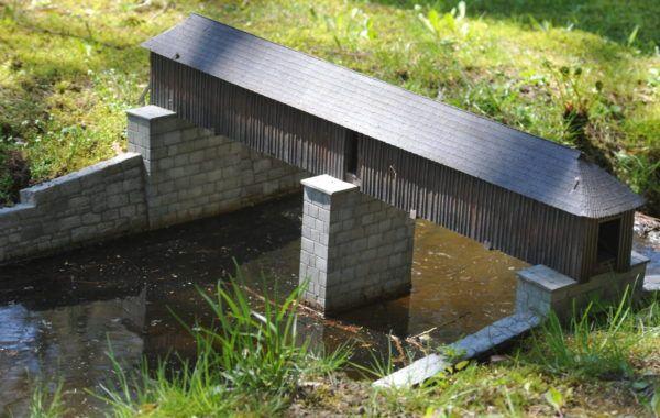 Dřevěný most Rechle u Lenory Dalších 59 modelů českých památek čeká v Parku Boheminium. Skvělé místo pro výlet!