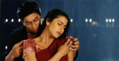 Shah Rukh Khan & Kajol in Kuch Kuch Hota Hai