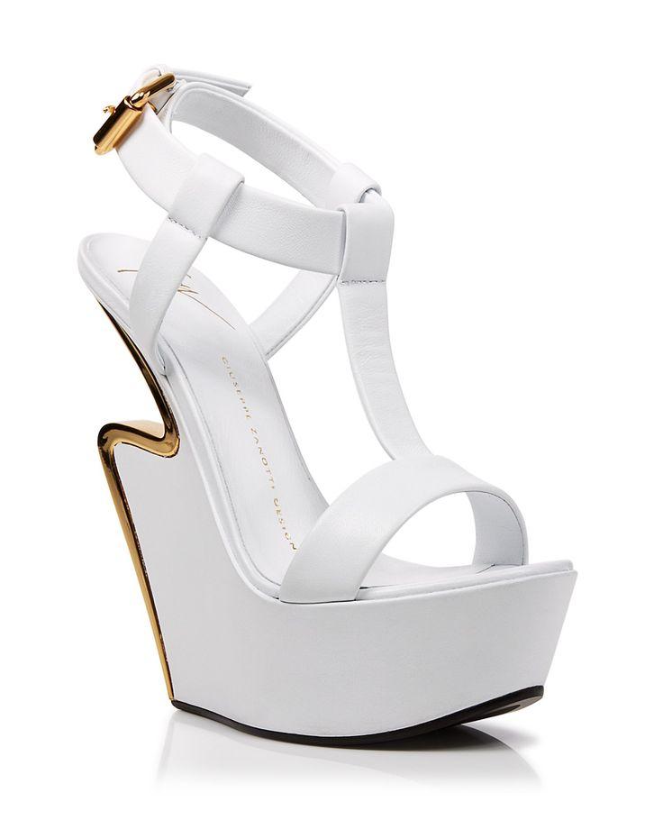 Giuseppe Zanotti Platform Wedge Sandals - Jee Signature | Bloomingdale's