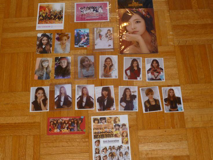 All my SNSD photocard