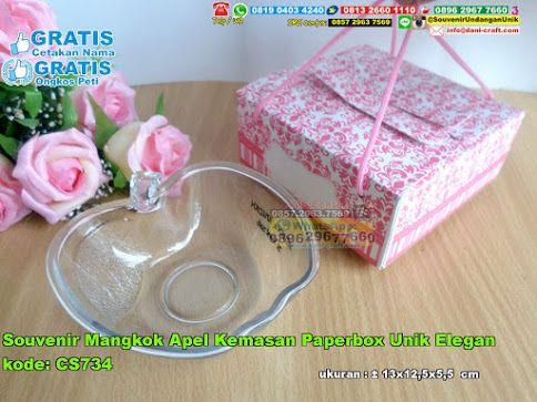 Souvenir Mangkok Apel Kemasan Paperbox Unik Elegan Hub: 0895-2604-5767 (Telp/WA)  #  # # # # # # #souvenir #souvenirPernikahan