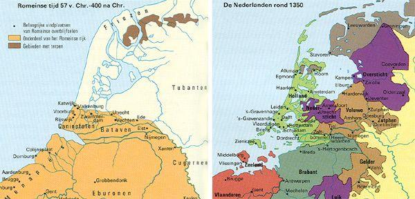 Webklik.nl - Ameland te kaart, jaar nul