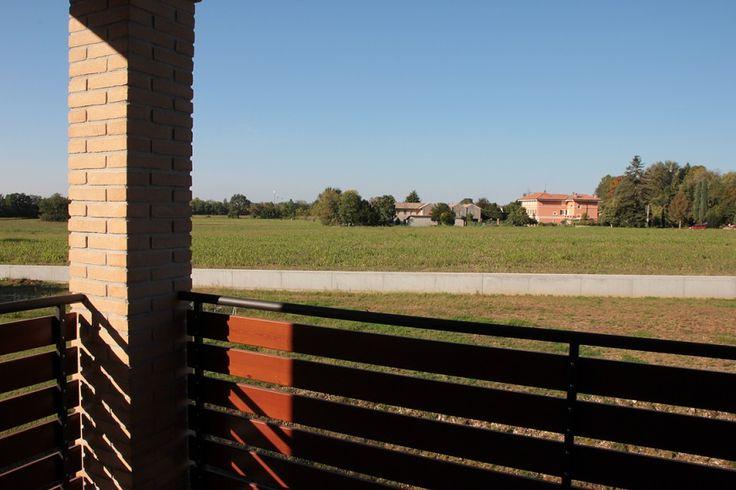 La vista dagli appartamenti di Borgo Castelliere