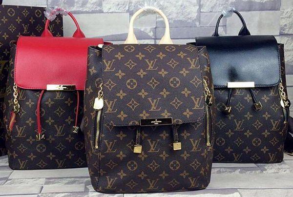 Louis Vuitton Monogram Canvas Backpack M55804, 2015 New Louis Vuitton…