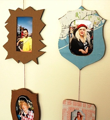 DIY Cardboard Hipster Frames - as easy peasy and inexpensive as they get!