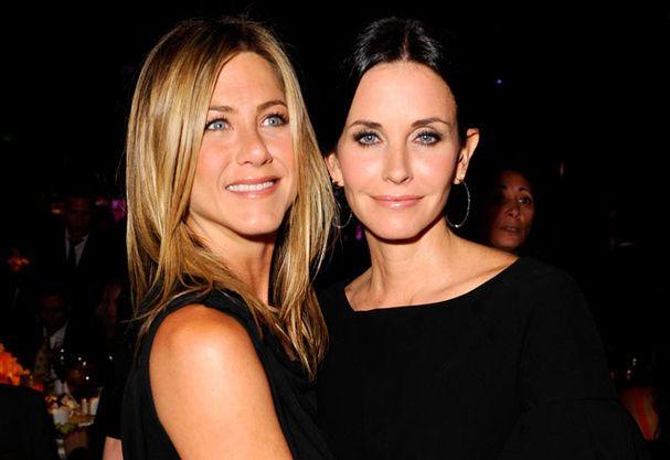 Jennifer Aniston et Courteney Cox : les plus sympas